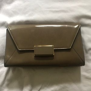 The Limited Tan Clutch